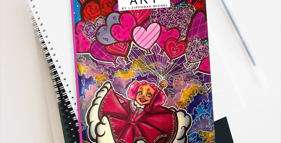 """Love Is in the Air"" Premium Art Journal"