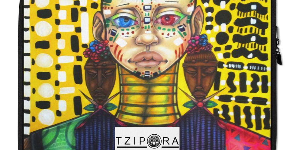 Tzipora Art   Tribe Member II Laptop Sleeve