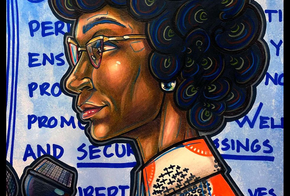 American Politician, Shirley Anita Chisholm