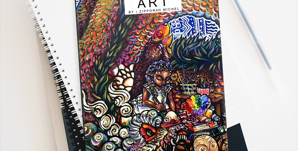 """""""Home Is Where the Art Is"""" Premium Art Journal"""