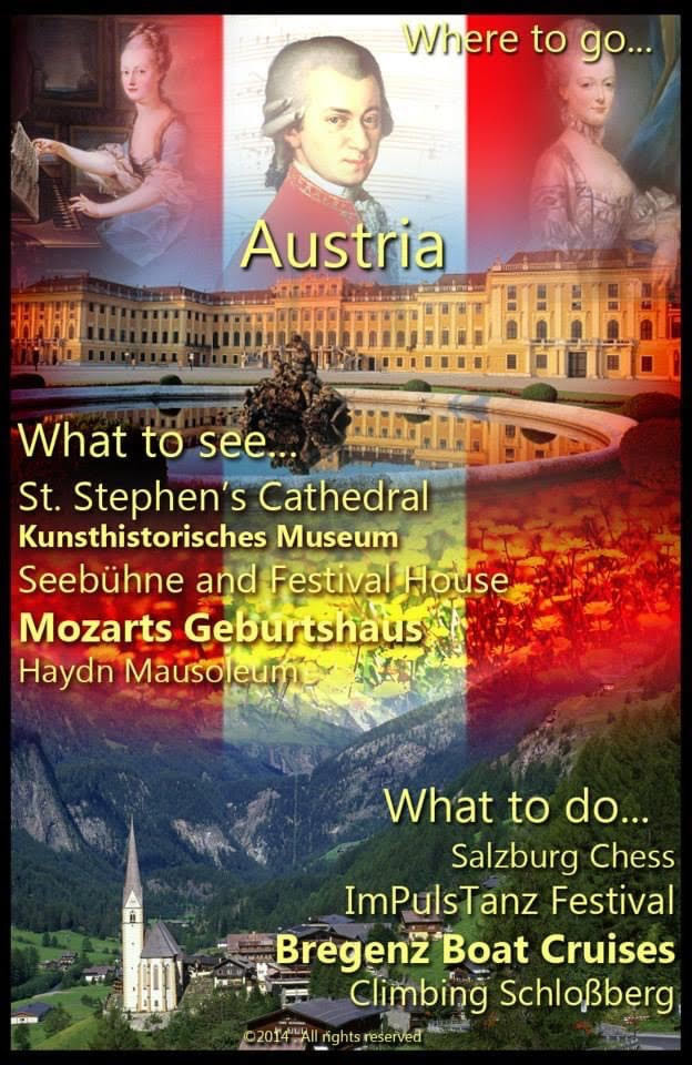 """Travel to Austria"""