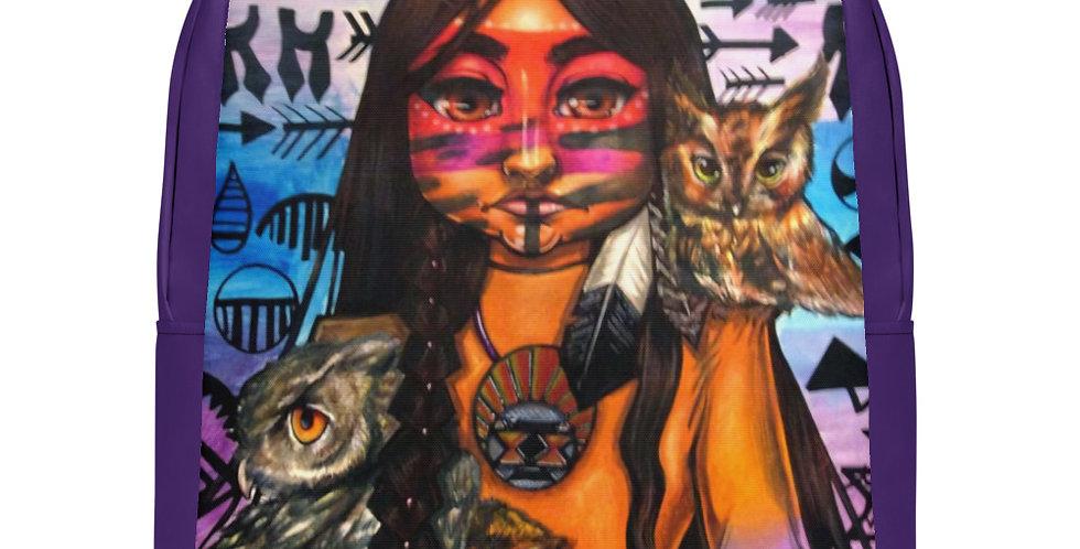 Tzipora Art | Native American Heritage I Minimalist Backpack
