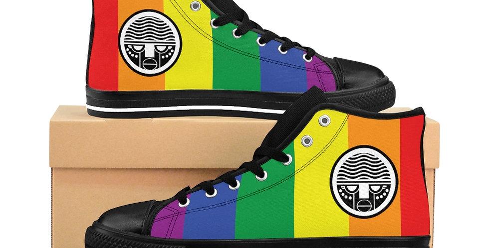 Rainbow Tzipora Art Women's High-top Sneakers