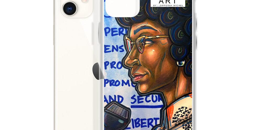 Tzipora Art | American Politician, Shirley Anita Chisholm iPhone Case