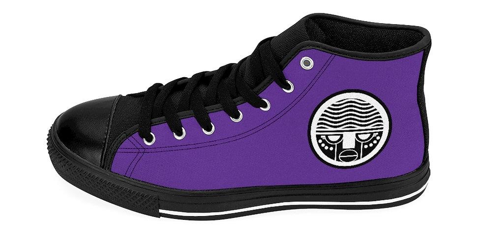 Violet Tzipora Art Women's High-top Sneakers
