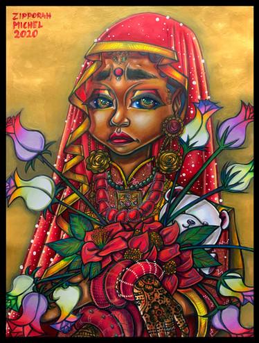 """Nepalese Child Bride, Dhriti"""