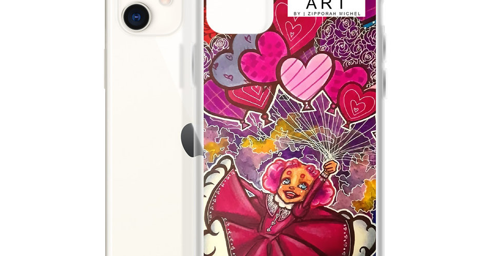 Tzipora Art   Love is in the Air iPhone Case