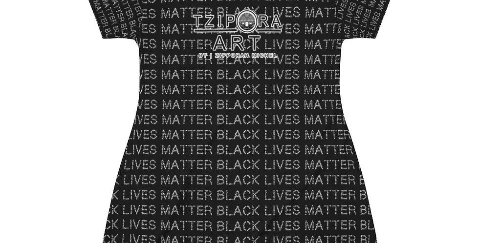 Tzipora Art Black Lives T-Shirt Dress