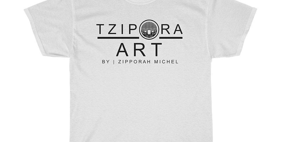 Tzipora Art Unisex Heavy Cotton Tee