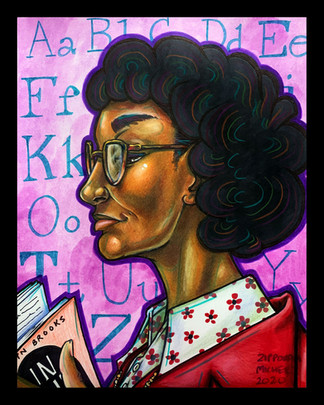 """Pulitzer Prize Author, Gwendolyn Brooks"""
