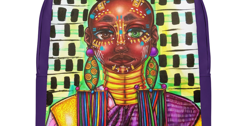 Tzipora Art | Tribe Member I Minimalist Backpack