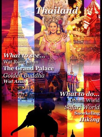 """Travel to Thailand"""