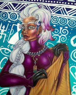 """The Winter Tribeswoman"""