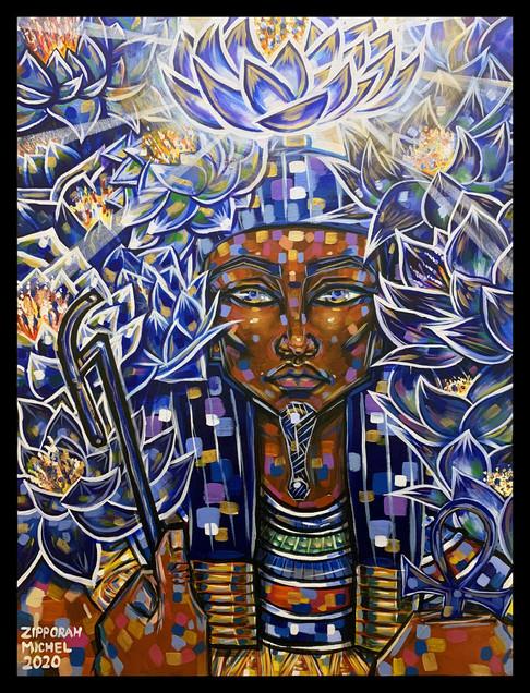 Nefertem of the Blue Lotus