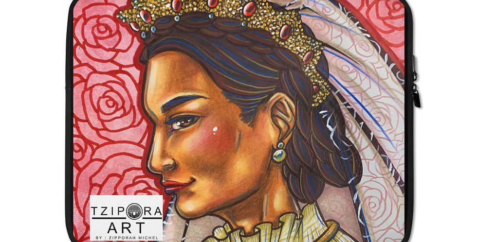 Tzipora Art   The Mad Queen, Ranavalona I Laptop Sleeve