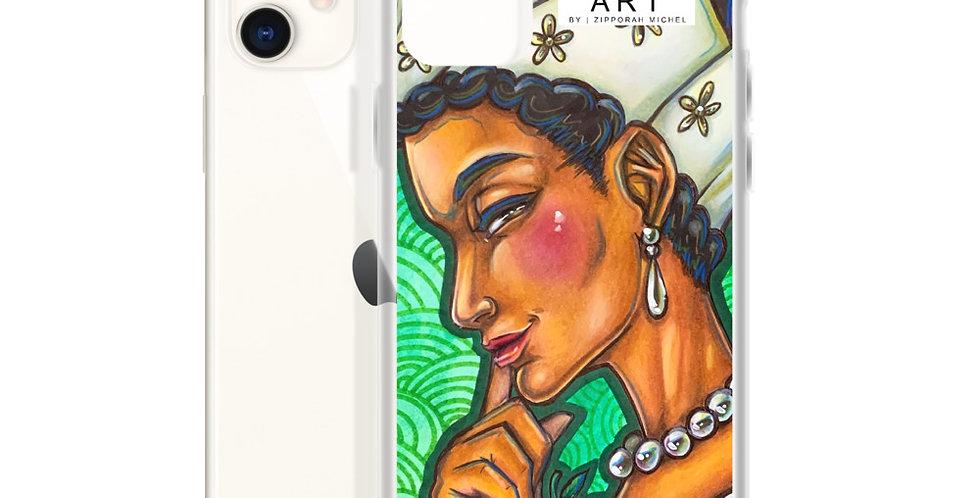 Tzipora Art | The Aristocrat, Dido Elizabeth Belle iPhone Case