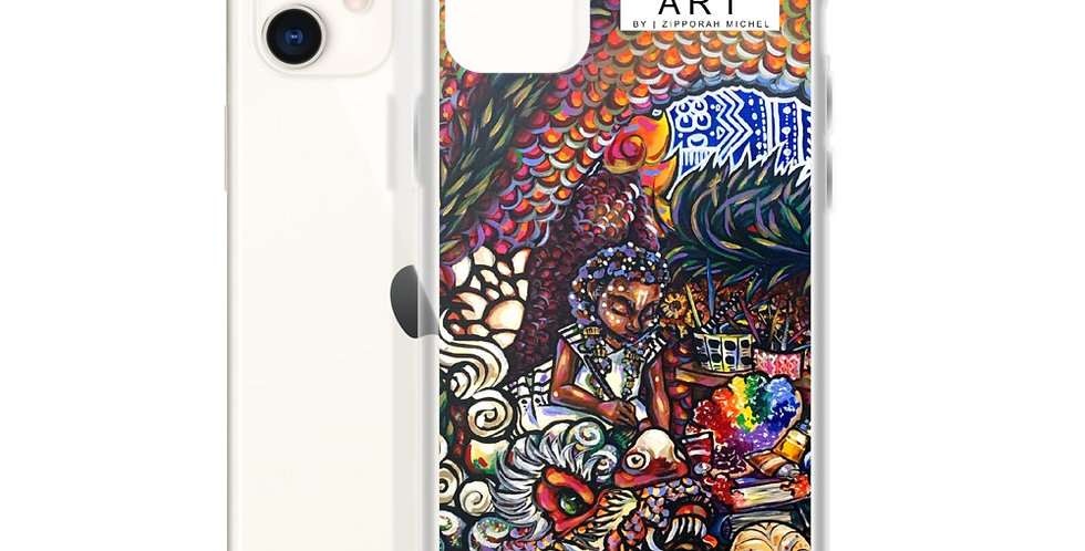 Tzipora Art | Home is Where the Art is iPhone Case