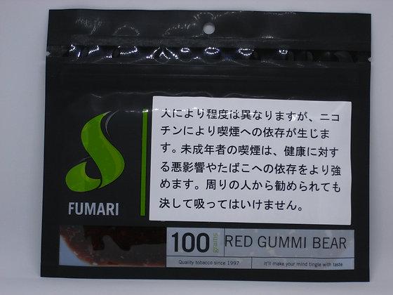 RED GUMMI BEAR 100g (FUMARI)