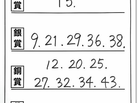 結果速報【本選】小1の部