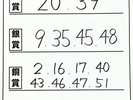 結果速報【本選】小5の部