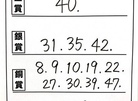 審査結果速報 【小6の部】