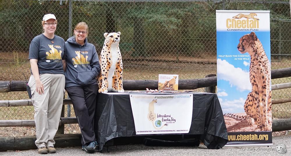 Samantah Kerns, head Zoo Keeper at Chehaw