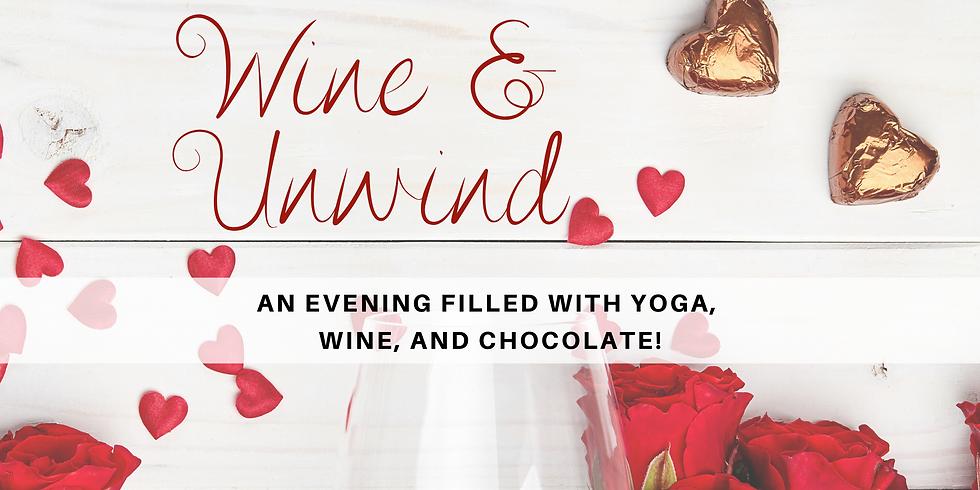 Wine & Unwind Yoga Workshop