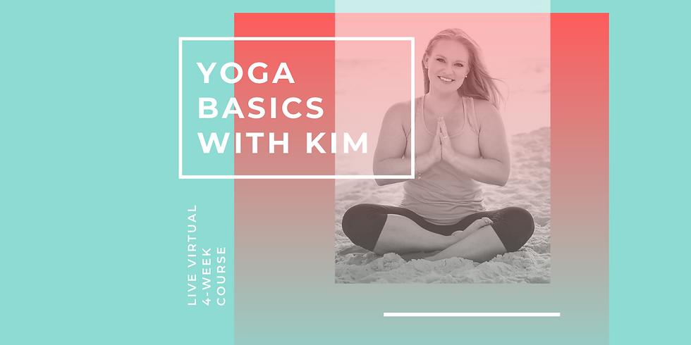 Yoga Basics Live Course - May 2020