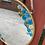 Thumbnail: Blue Dried Floral Daisy Mirror