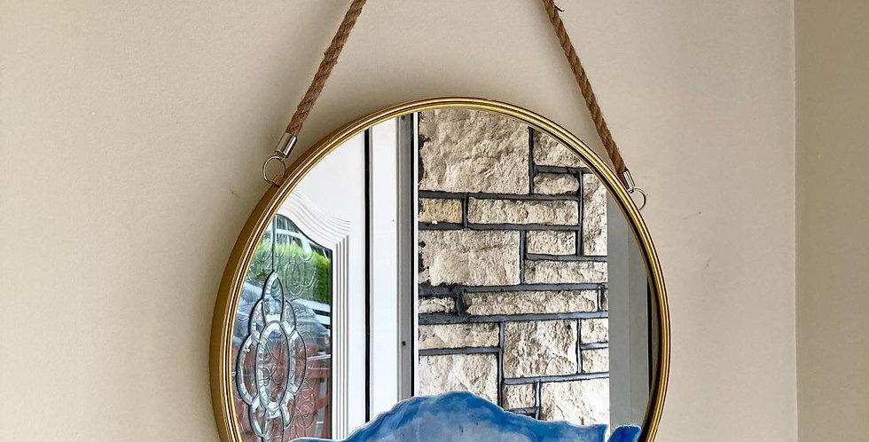 Beach Theme Mirror Handmade with Donegal Sand & Shells