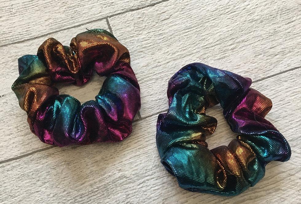 'DISCO DIVA' Metallic Scrunchie