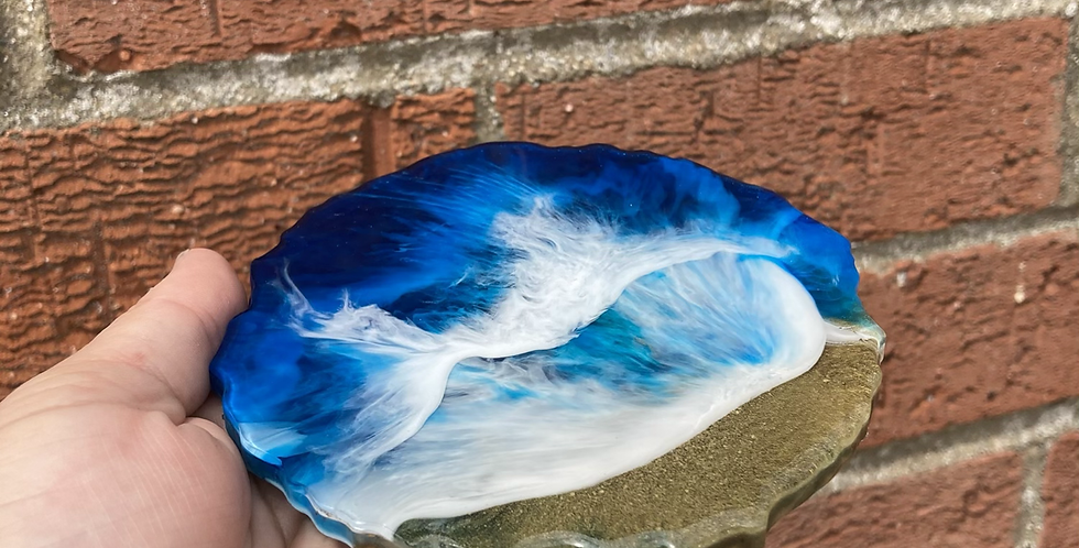 Wave Resin Coasters