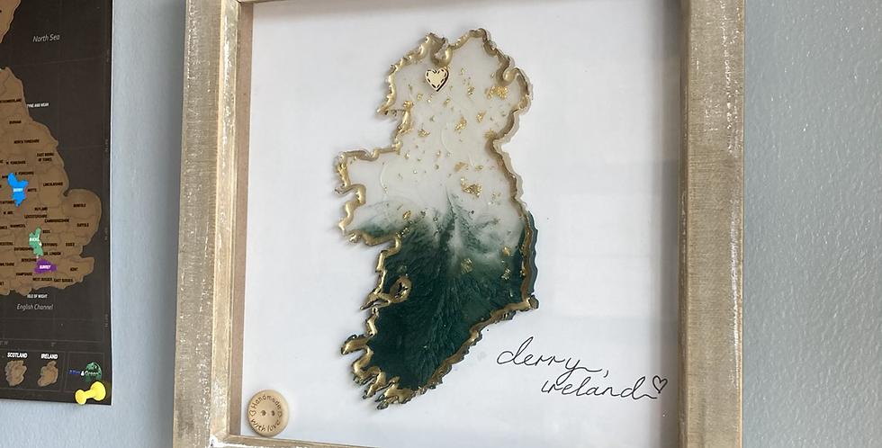 Derry/Ireland Frame