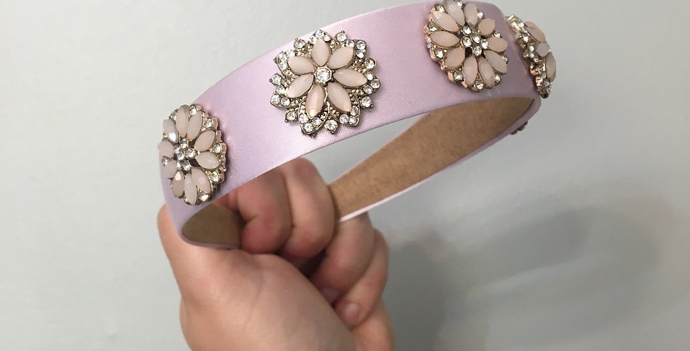 'Ellie' Vintage Embellished Band