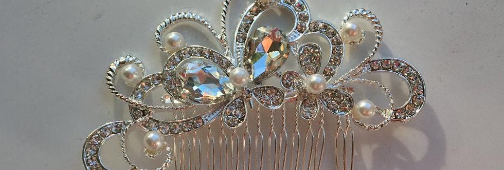 Butterfly, Pearl & Diamond Slide