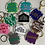 Thumbnail: Derry Collection Keyrings