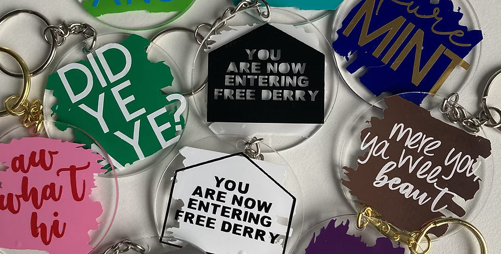 Derry Collection Keyrings