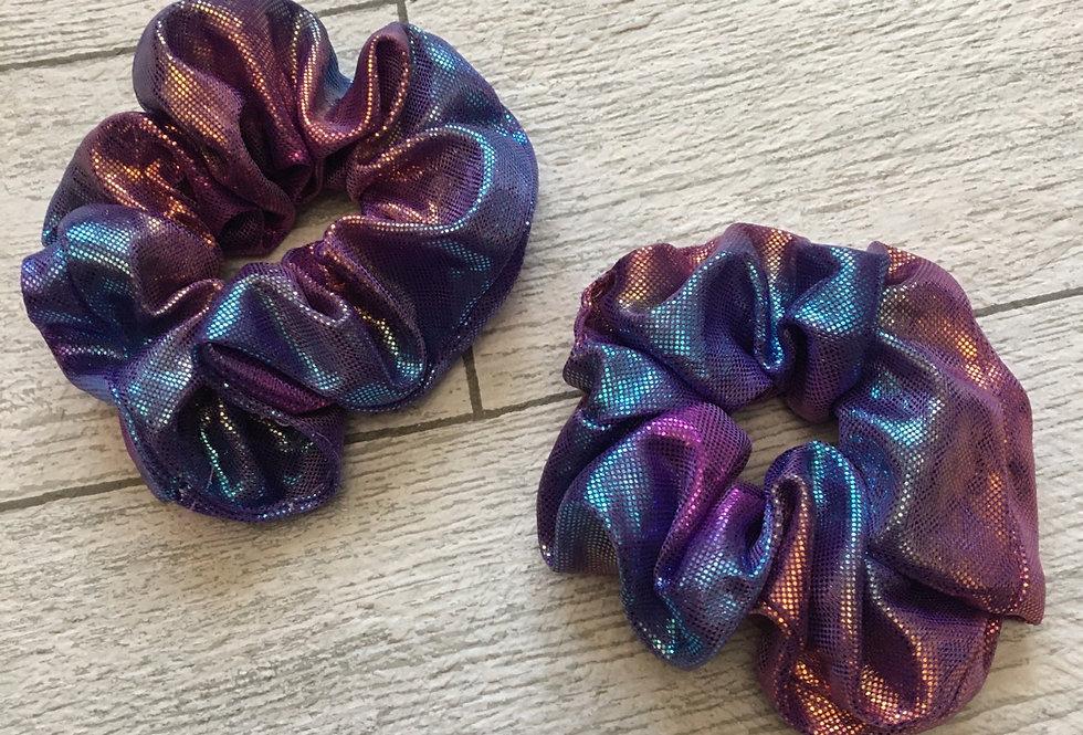 'OCTOPUS' Metallic Scrunchie
