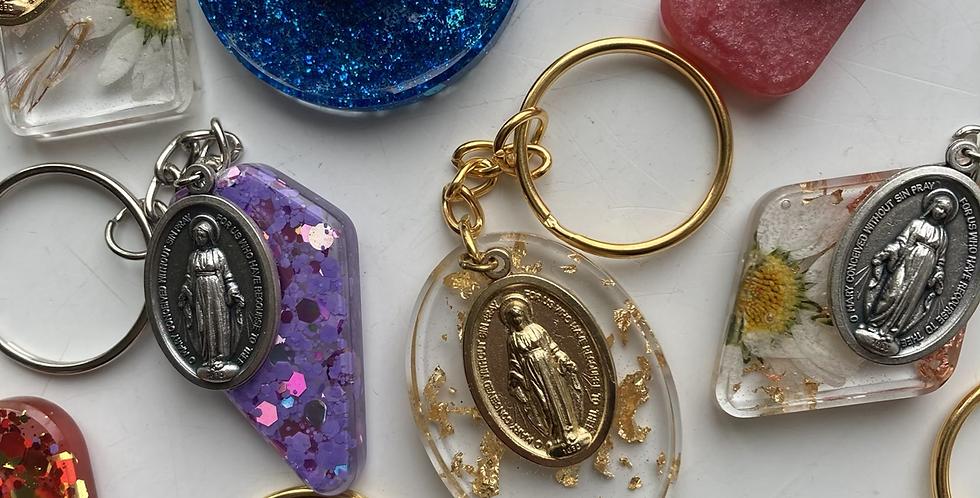 Miraculous Medal Keyrings