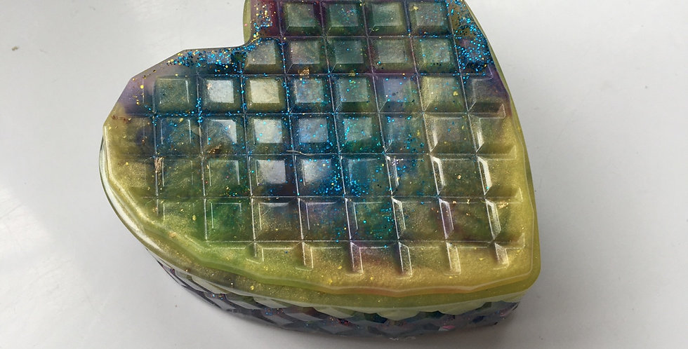 Galaxy Heart Trinket Box