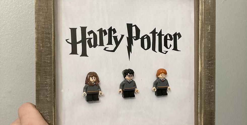 Harry Potter Lego Frame
