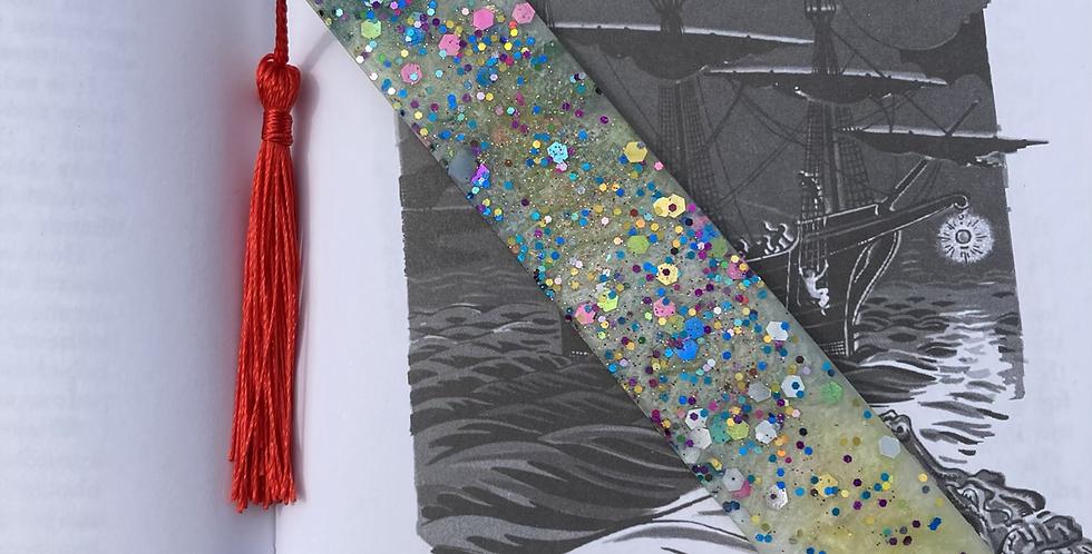 Glitter Mix Bookmark