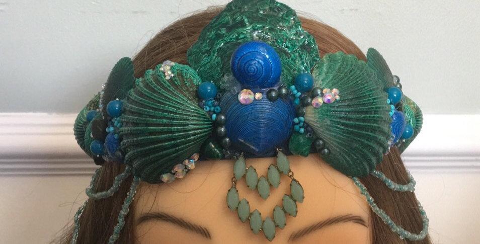 'Adella' Mermaid Crown
