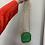 Thumbnail: Emerald Mini Clutch with Chain/Bead Strap & Pearl Detail