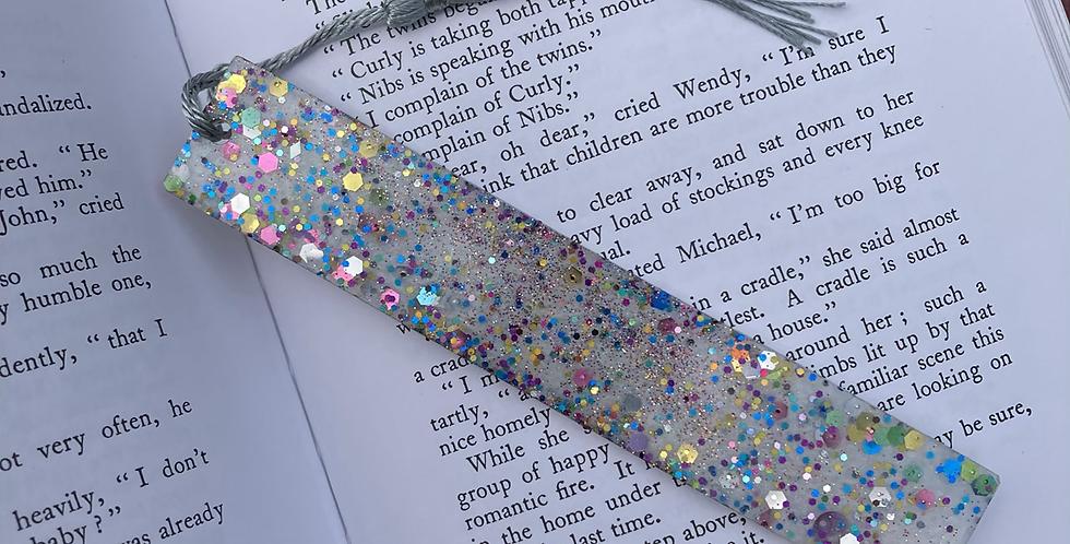 Silver Multicolour Bookmark