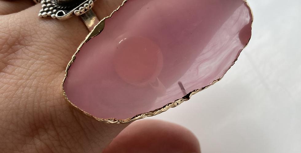 Pink/Gold Adjustable Ring Palette
