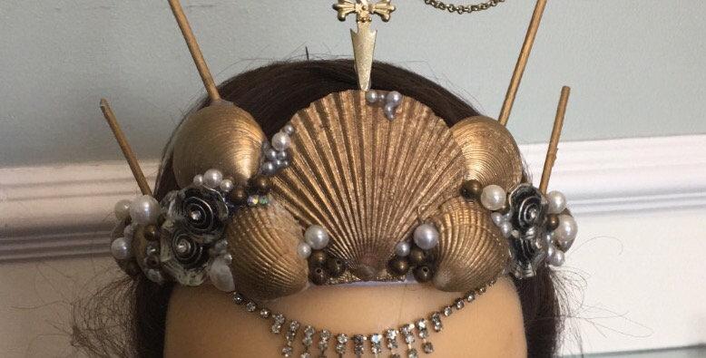 'Buried Treasure' Mermaid Crown