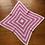 Thumbnail: Pink & White Baby Blanket