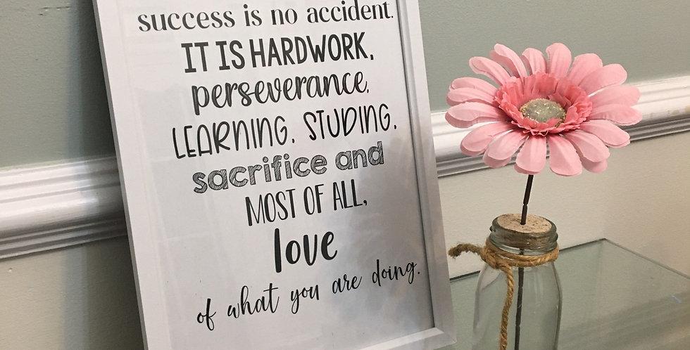 'Success' A4 Print