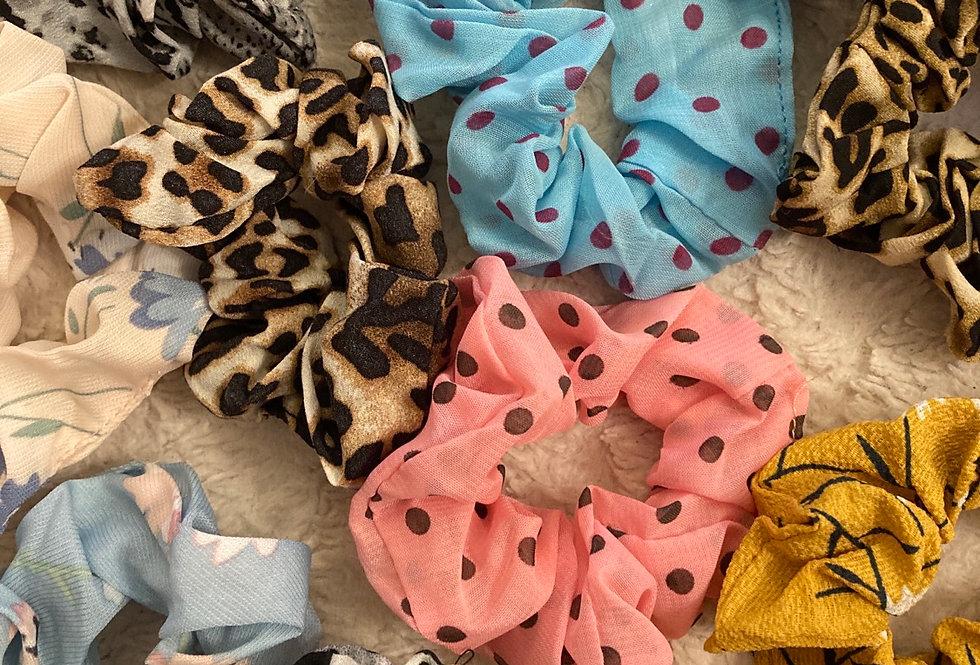 Chiffon Scrunchies